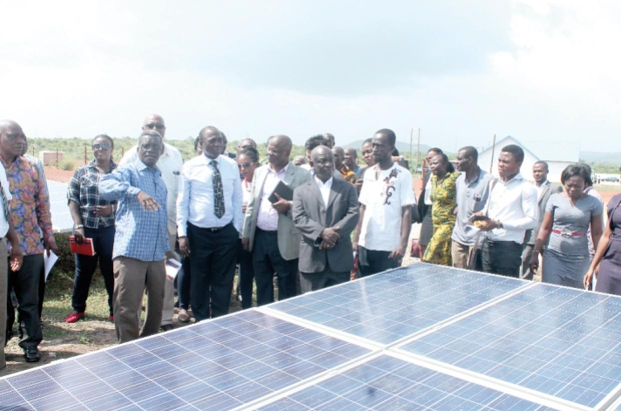 Chinese solar farm